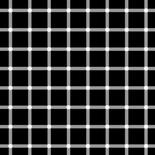 An example of the Scintillating Grid illusion.